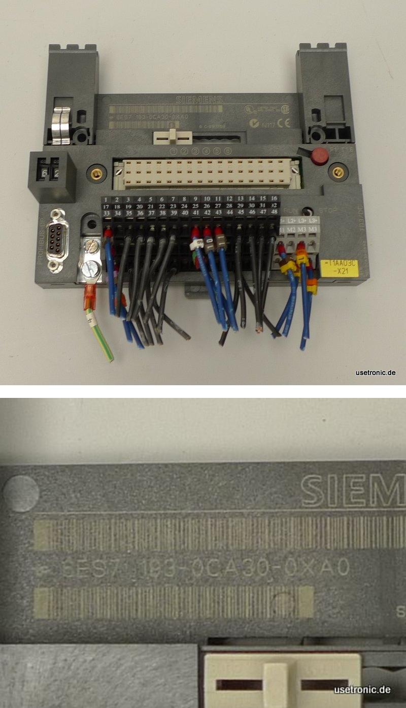 Siemens 6ES7193-0CA30-0XA0 6ES7 193-0CA30-0XA0