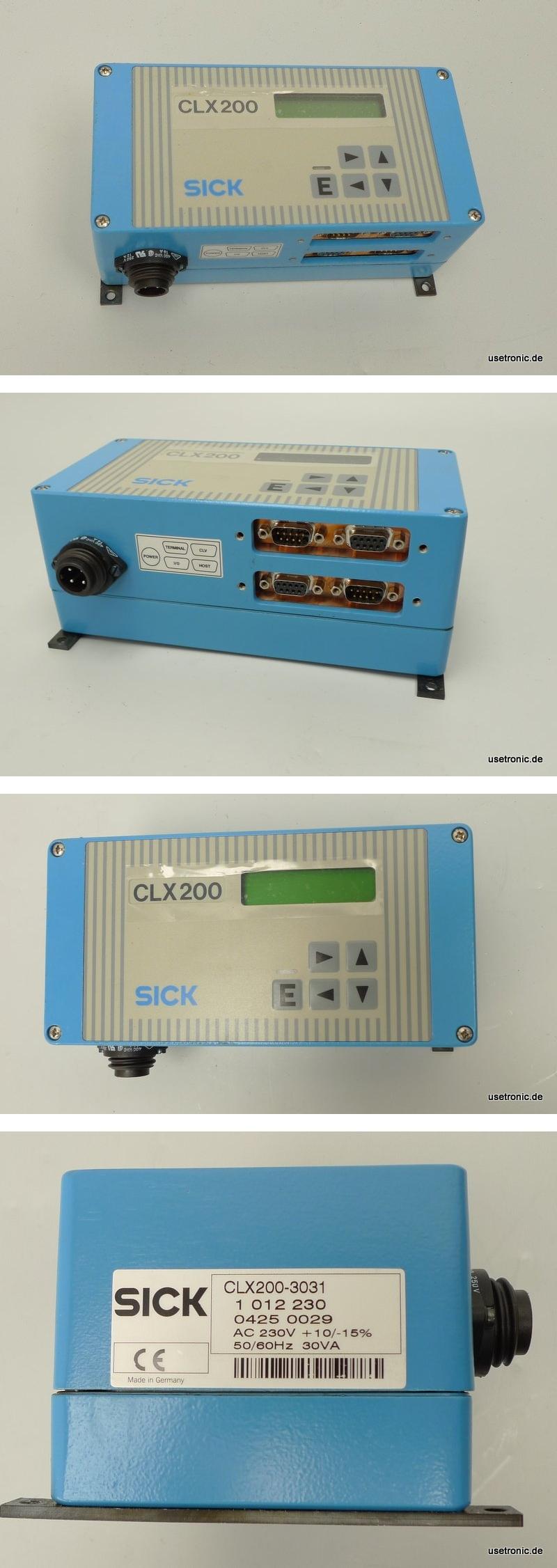 Sick CLX200-3031 CLX-200 1012230 Netzwerkcontroller