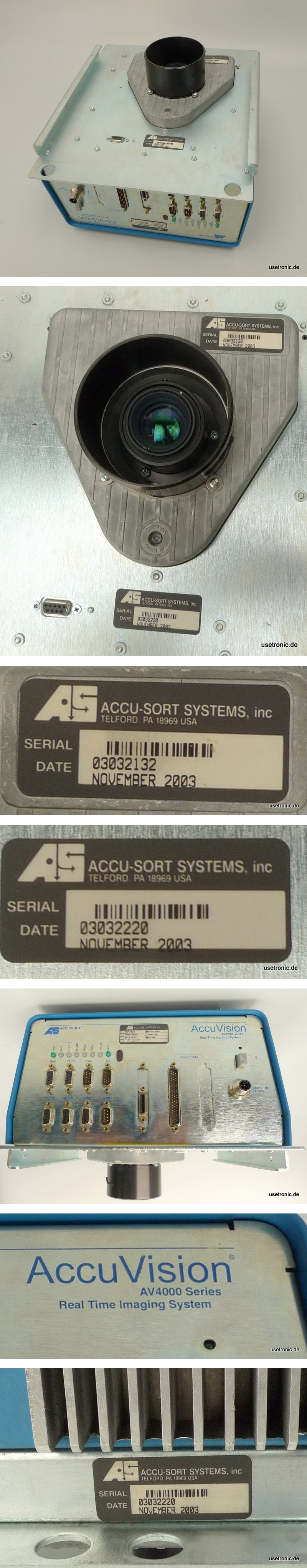 AS Accu Vision AV4000 Sort Zeilenkamera
