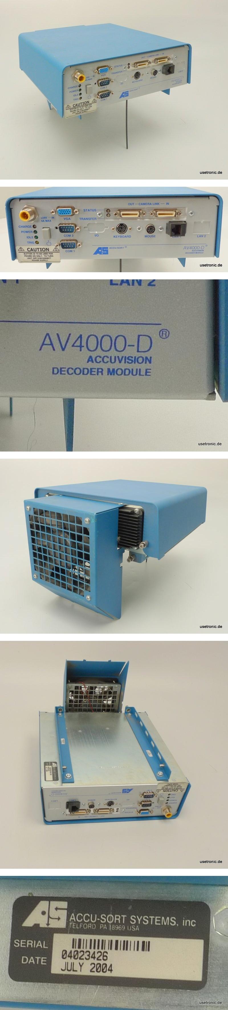 AS Accu-Sort Accuvision AV4000-D Decoder Module