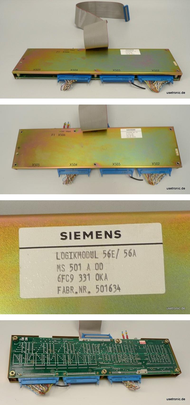 Siemens Sinumerik Logikmodul 56E/56A MS501-A 6FC9331-0KA