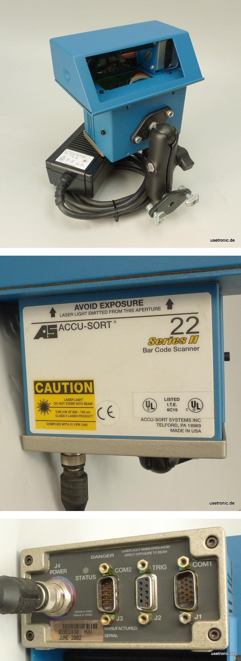AS Accu Sort 22 Series II Barcode Scanner