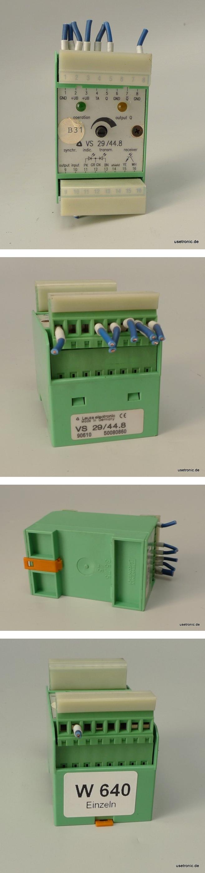 Leuze Messwertverstärker VS-29/44.8 50080860