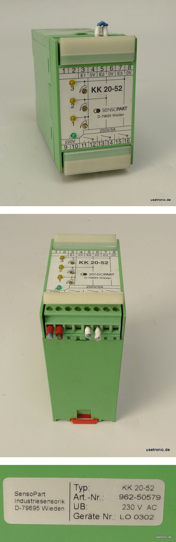 Sensopart KK20-52 Regler Controller