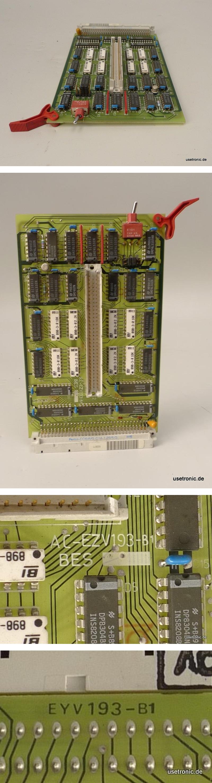 KBA Koenig Bauer Druckmaschine Modul AC-EZV193-B1 EYV193-B1