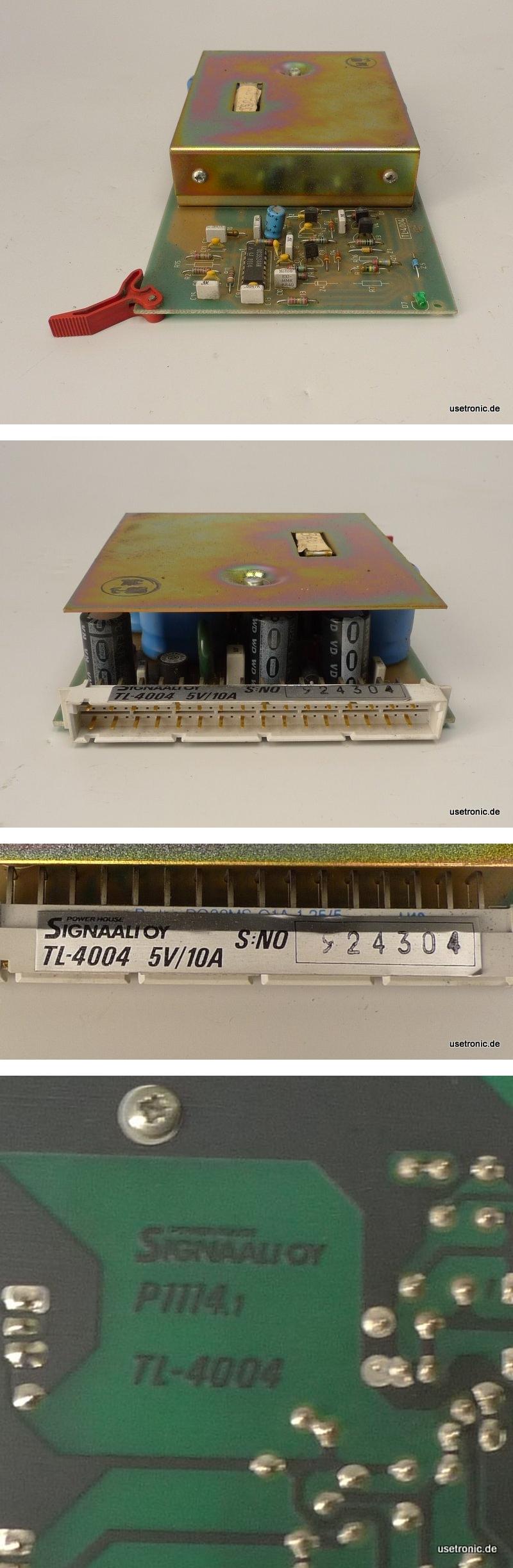 KBA Koenig Bauer Druckmaschine Signaali OY TL-4004 5V 10A