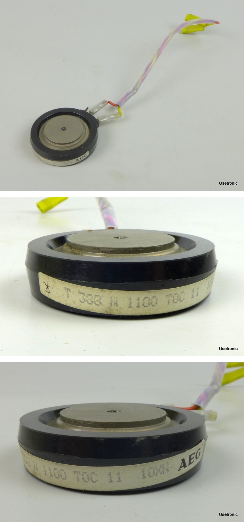 AEG Minisemi-D 029.132 304 KW Thyristor AEG T388 N1100 TOC 11 029.062