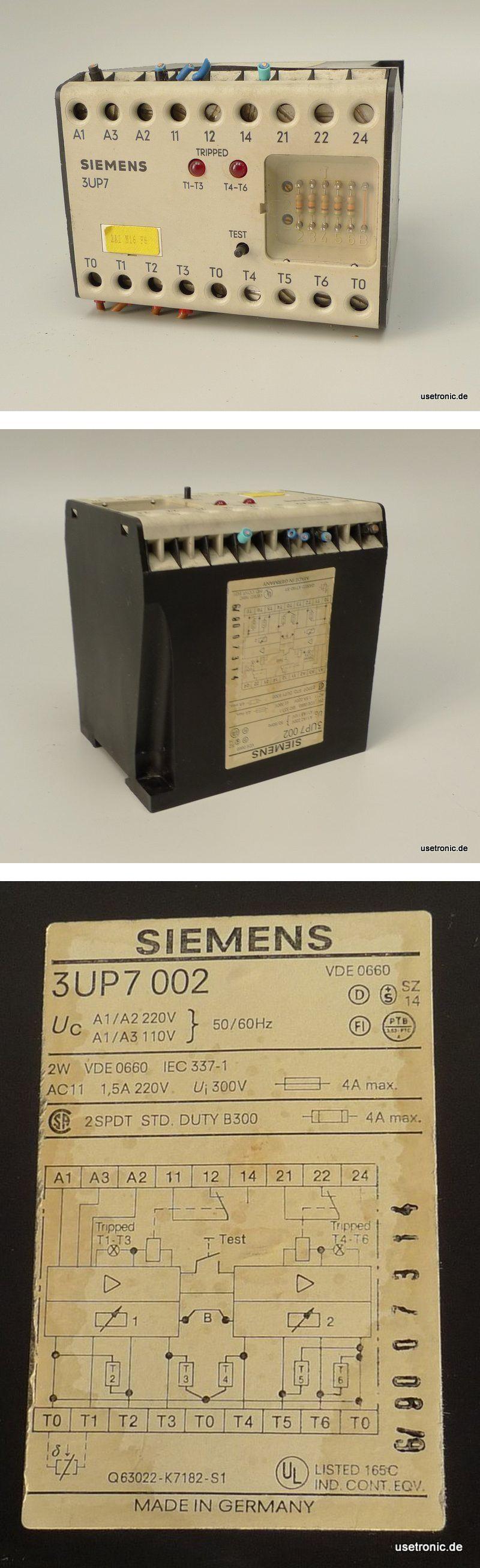 Siemens ,3UP7002 ,Heissleiter-Auslösegerät