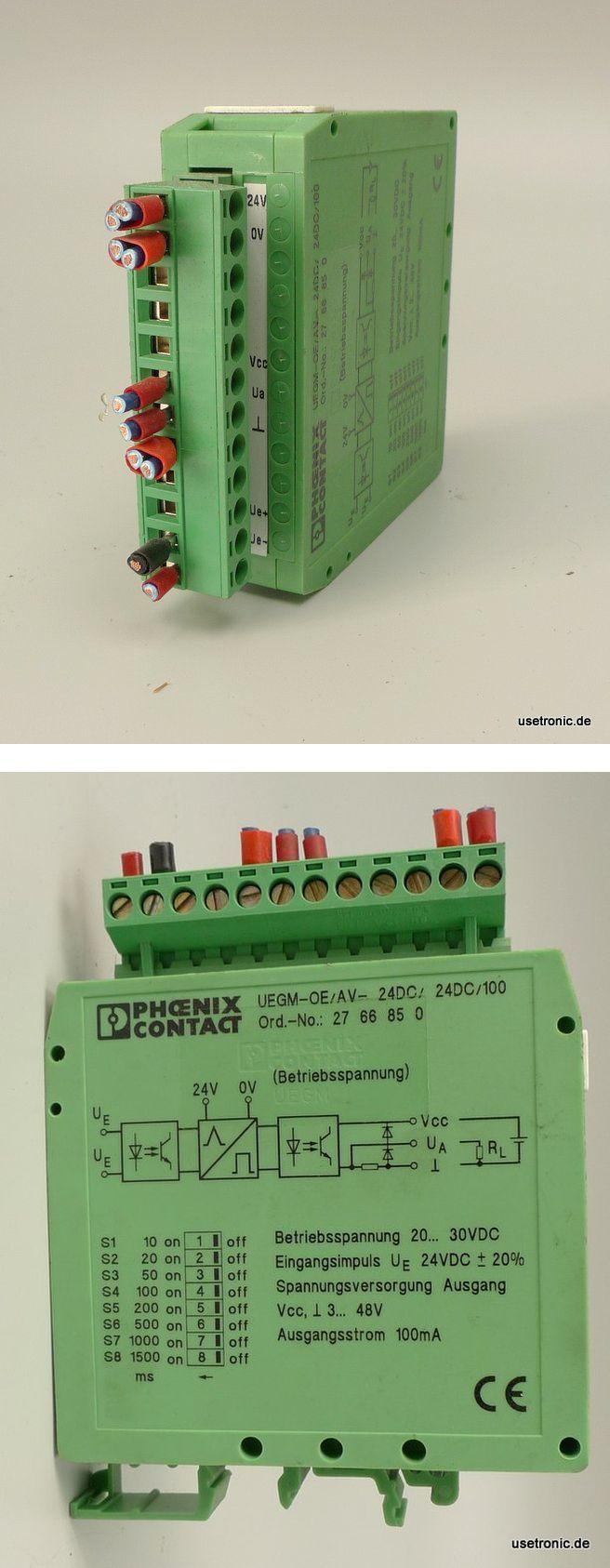Phoenix Contact UEGM-OE/AV-24VDC 2766850 Impulsverlängerungsbaustein