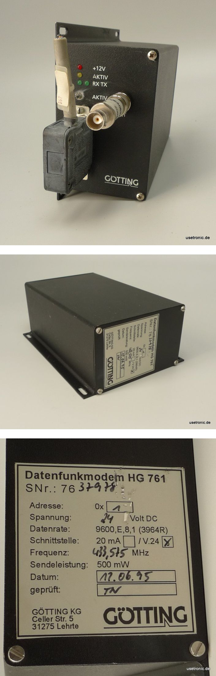 Götting Datenfunkmodem HG761