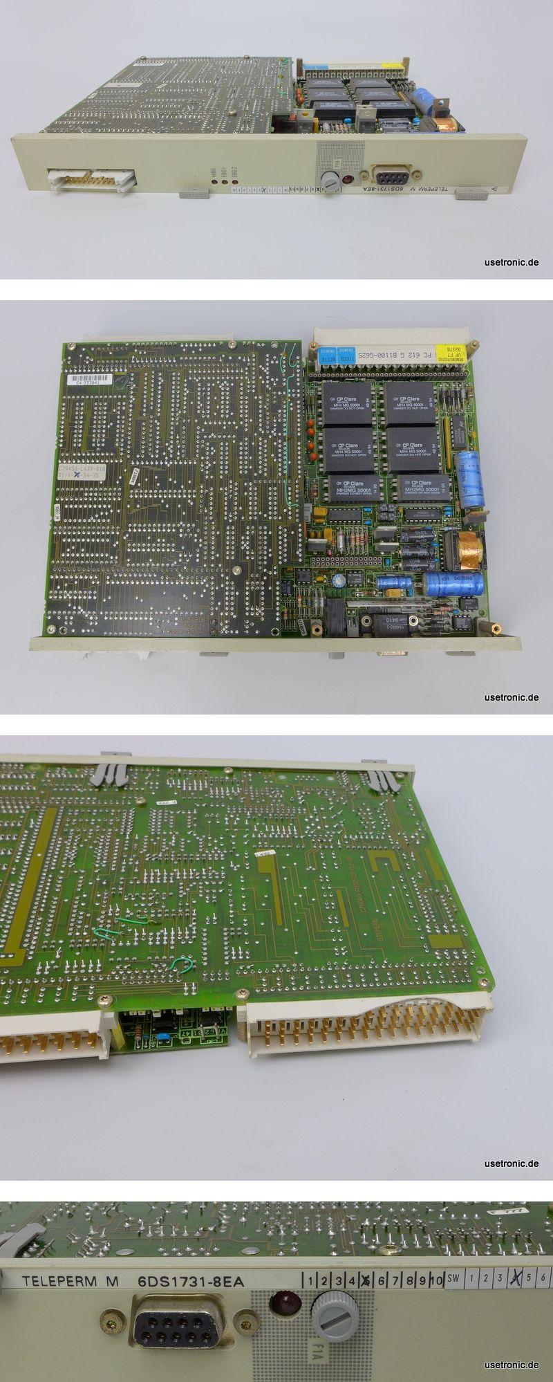 Siemens Teleperm 6DS1731-8EA 6DS 1731-8EA E:4