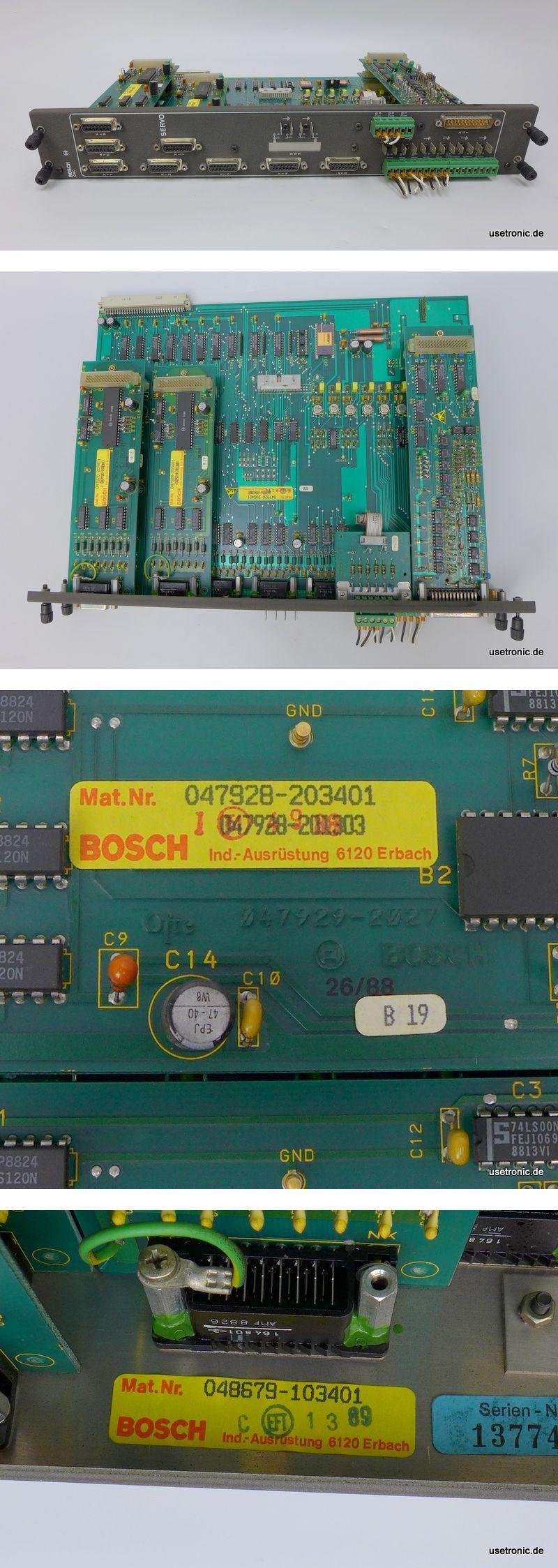 Bosch CNC Servo Modul 048672-102401 047928-203401 048679-103401