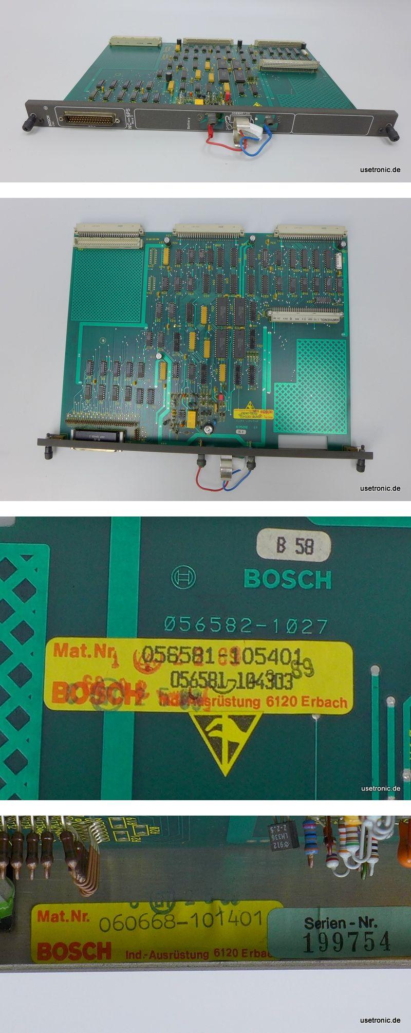 Bosch CNC Modul NC-SPS 056581-105401 060668-101401