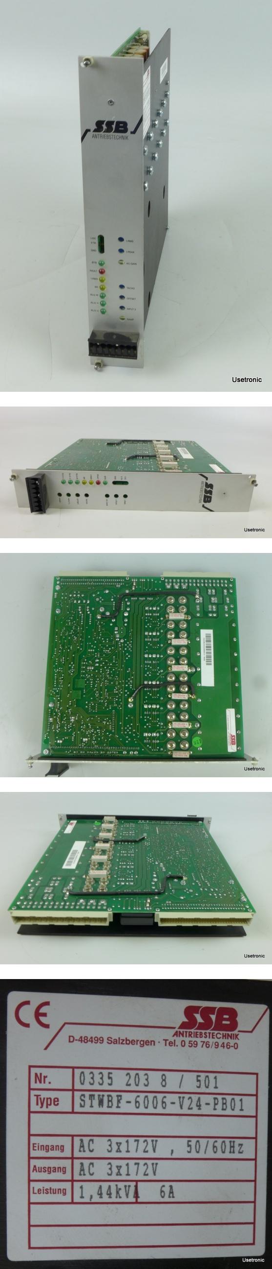 SSB Kollmorgen STWBF-6006-V24-PB01