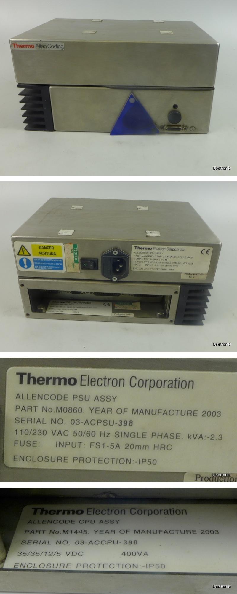Thermo Allencode Control Box PSU 03-ACPSU-398 CPU 03-ACCPU-398