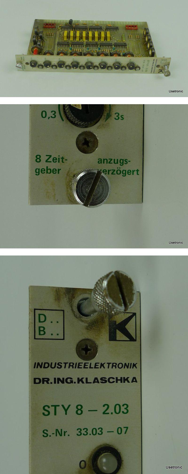 Klaschka 8 Zeitgeber STY 8-2.03 33.03-07
