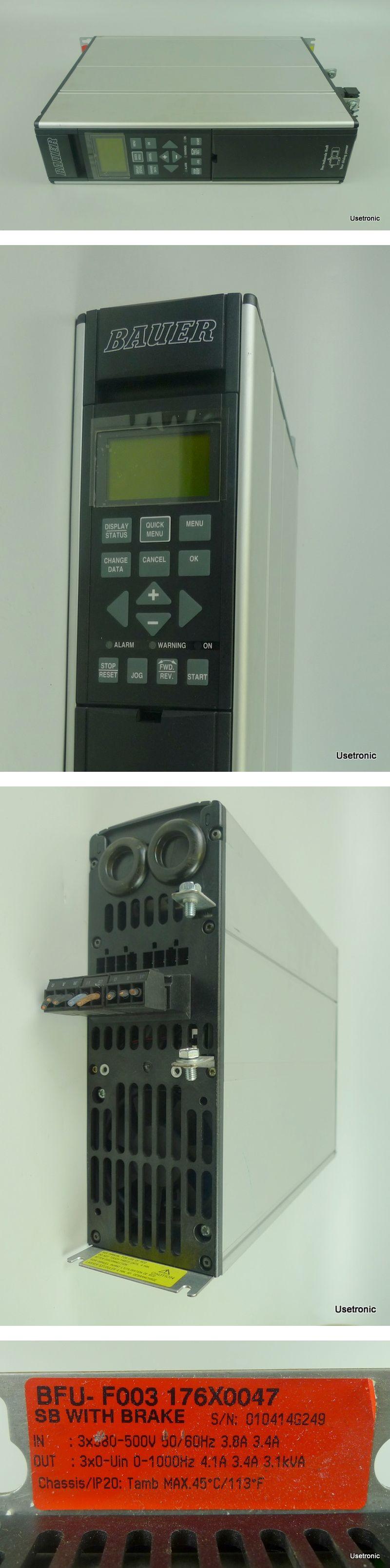Bauer BFU-F003 Frequenzumrichter 0-1000Hz 3,1 kVA 176X0047