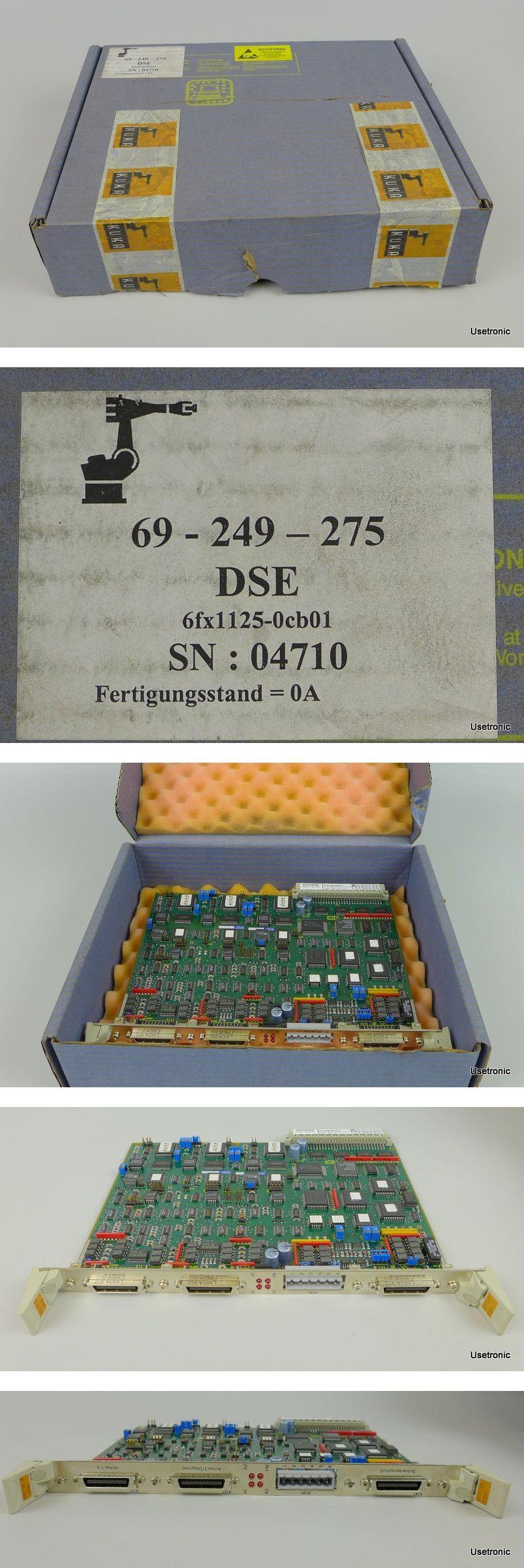 Siemens Kuka 6FX1125-0CB01 69-249-275