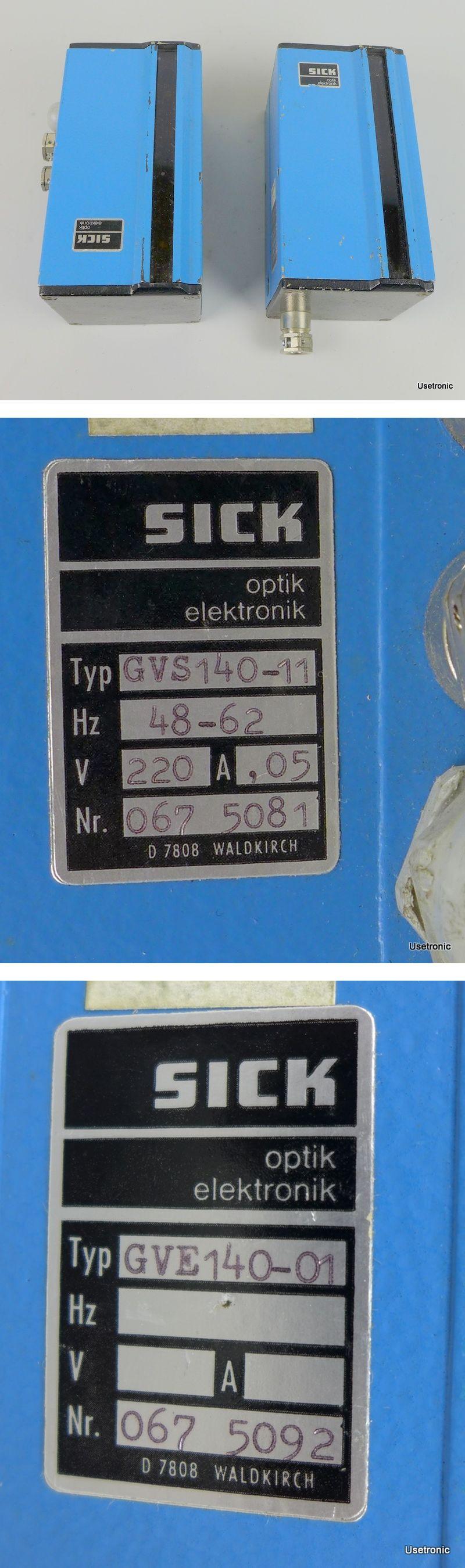 Sick Lichtschranke GVS140-11 GVE140-01 Sender Empfänger