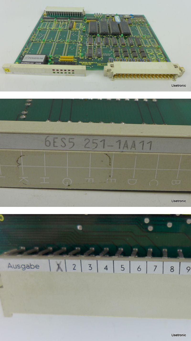 Siemens 6ES5251-1AA11 6ES5 251-1AA11