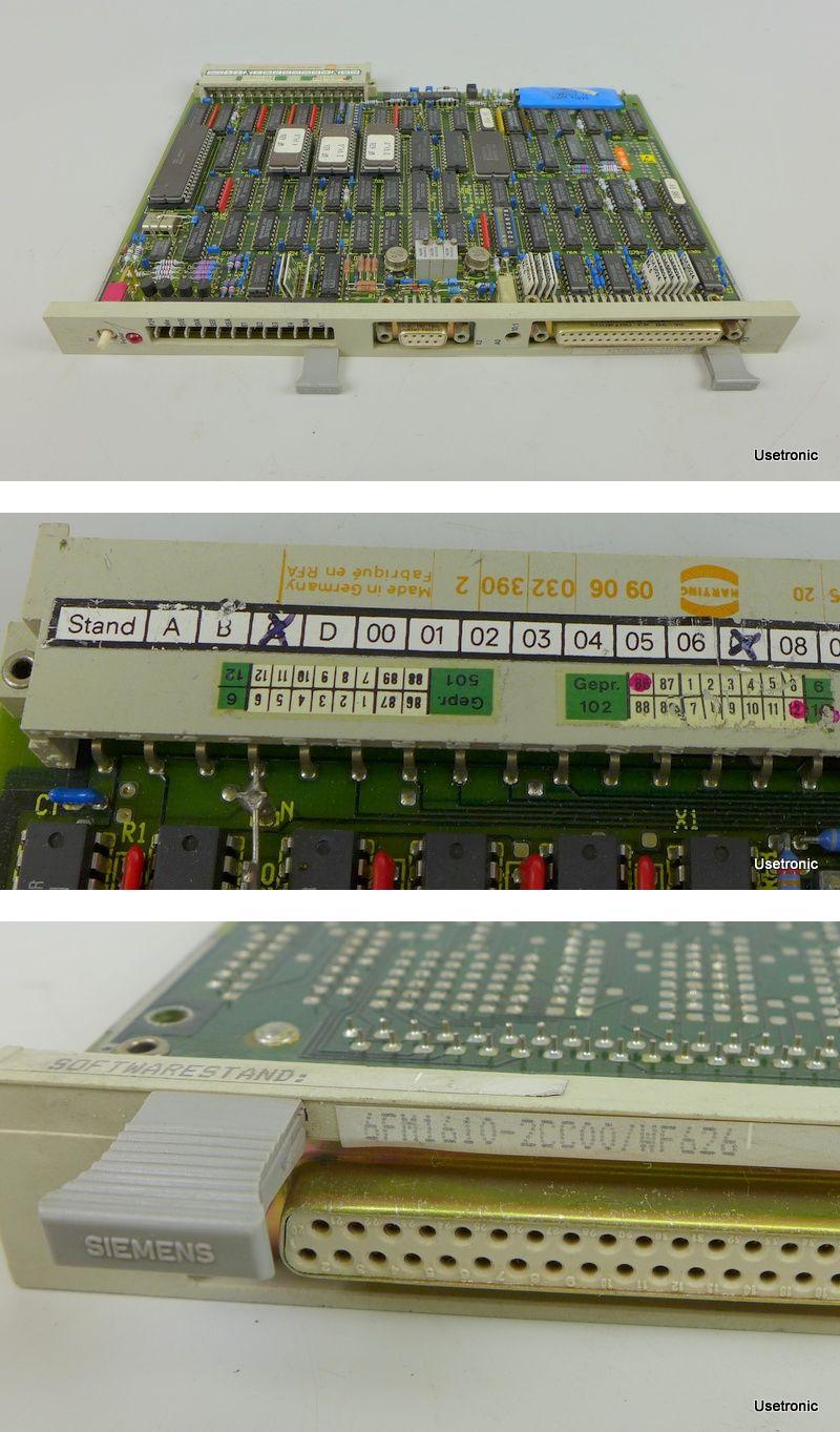 Siemens 6FM1610-2CC00 WF626