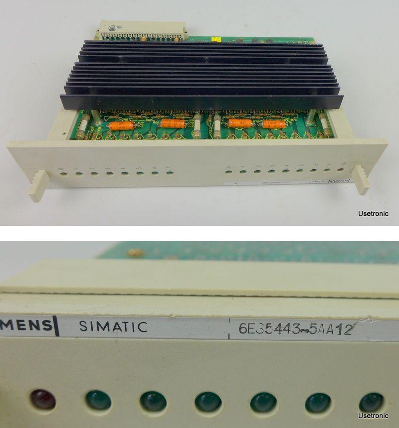 Siemens 6ES5443-5AA12 6ES5 443-5AA12