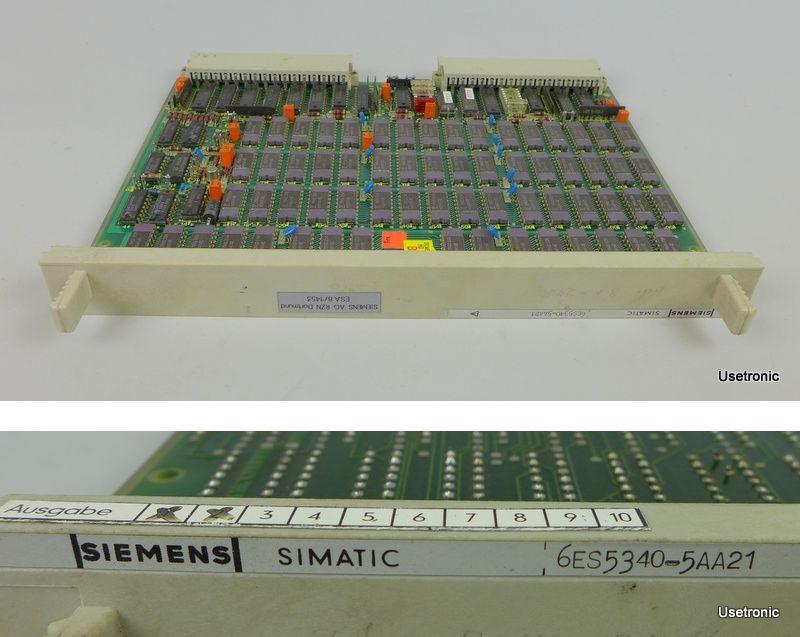 Siemens 6ES5340-5AA21 6ES5 340-5AA21