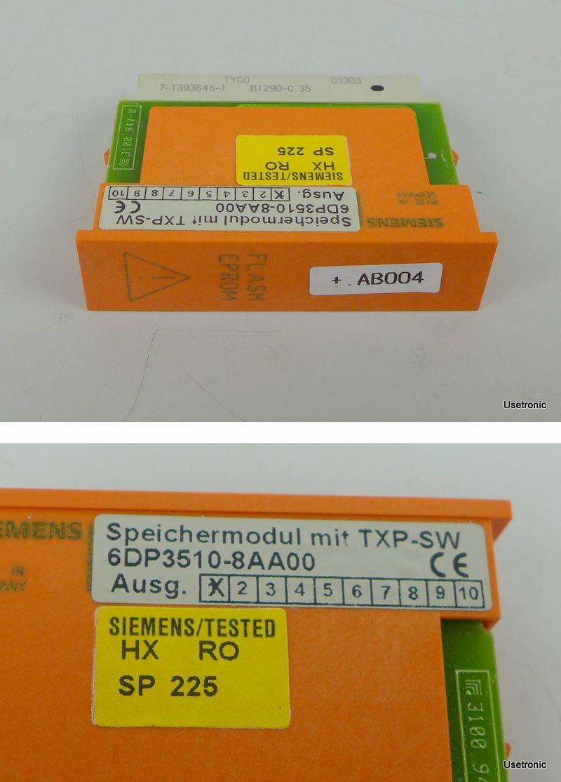 Siemens ,Speichermodul ,TXP-SW ,6DP3510-8AA00
