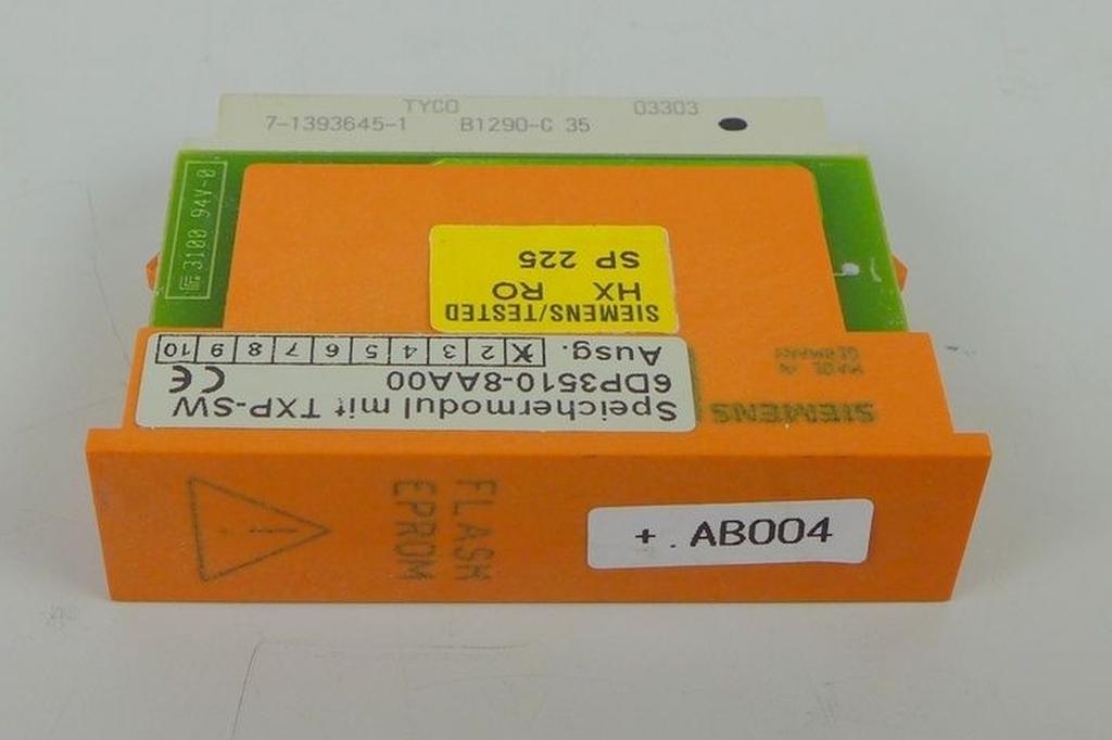 DG604 Speichermodul TXP-SW Siemens 6DP3510-8AA00 E1