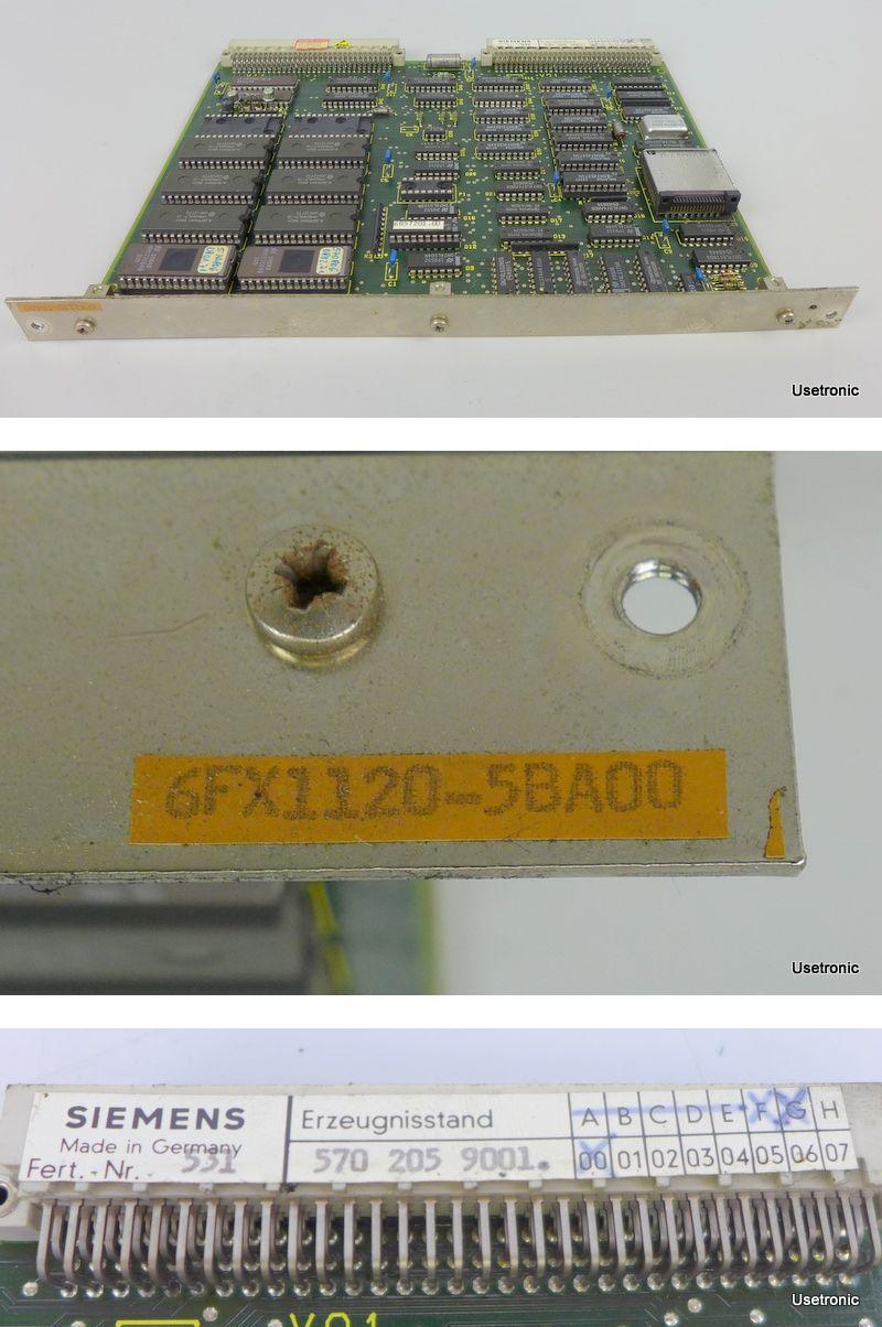 Siemens Sinumerik 6FX1120-5BA00