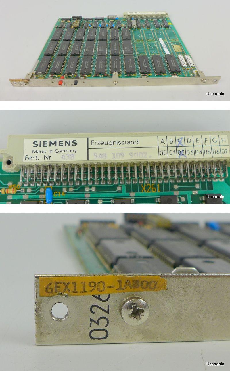 Siemens Sinumerik 6FX1190-1AB00