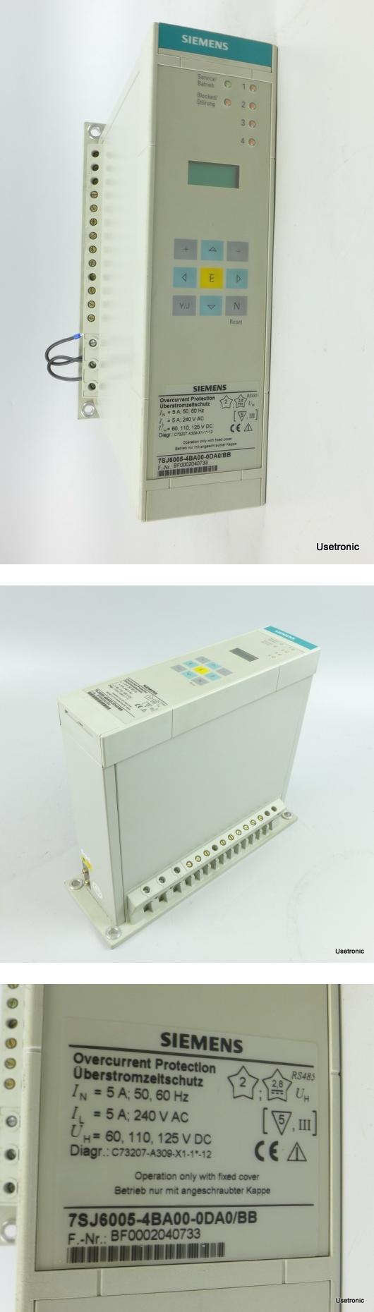 Siemens 7SJ6005-4BA00-0DA0