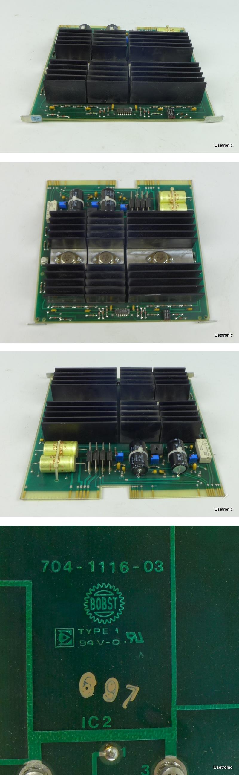 Bobst Power Supply Stromversorgung 704-1116-03 704111603