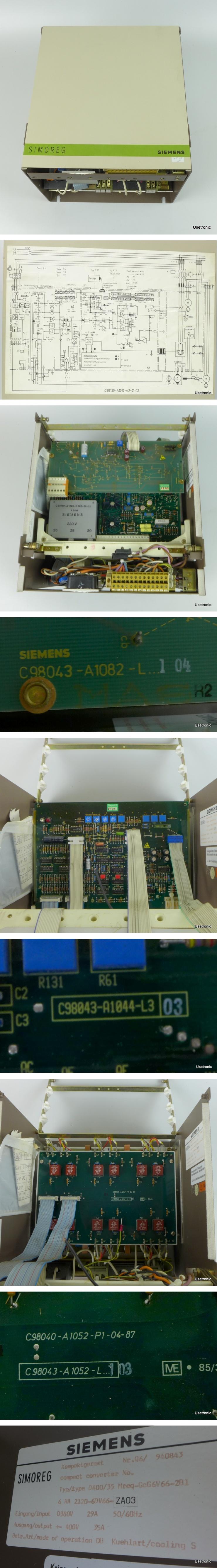 Siemens 6RA2120-6DV66-ZA03 Mreq-GcG6V66-2B1