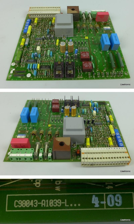 Siemens C98043-A1039-L4 09
