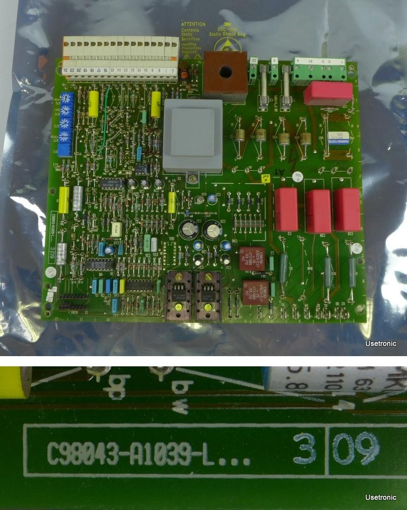 Siemens Simoreg C98043-A1039-L3 09