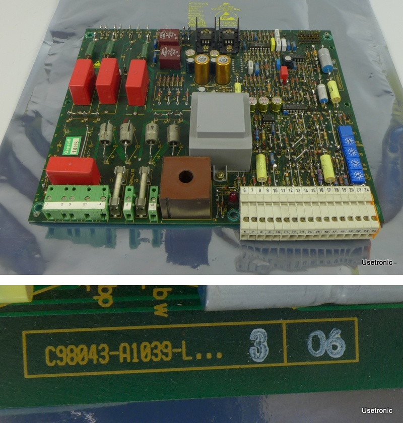 Siemens Simoreg C98043-A1039-L3 06