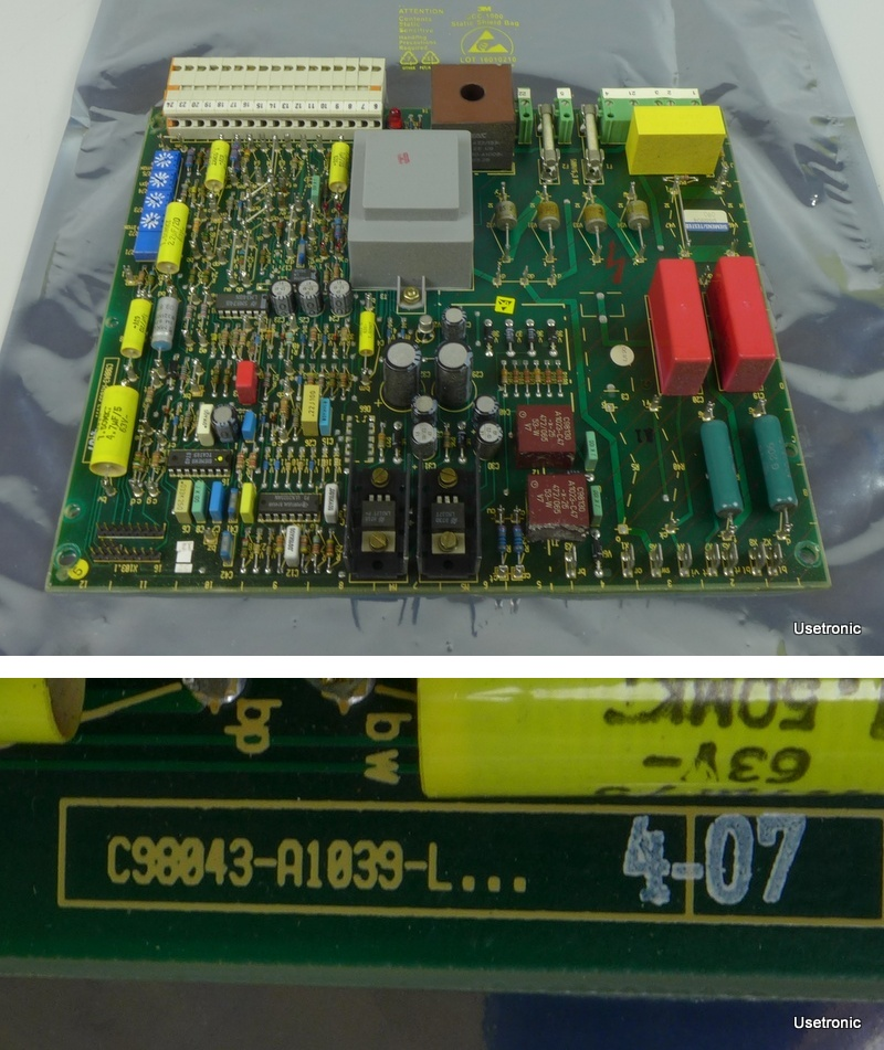 Siemens Simoreg C98043-A1039-L.4 07