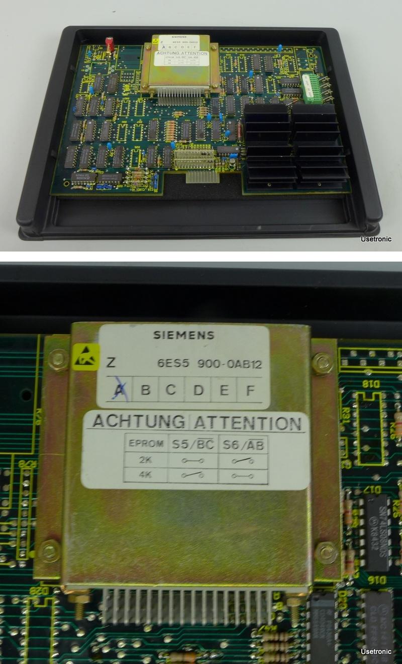 Siemens S5 6ES5900-0AB12 6ES5 900-0AB12