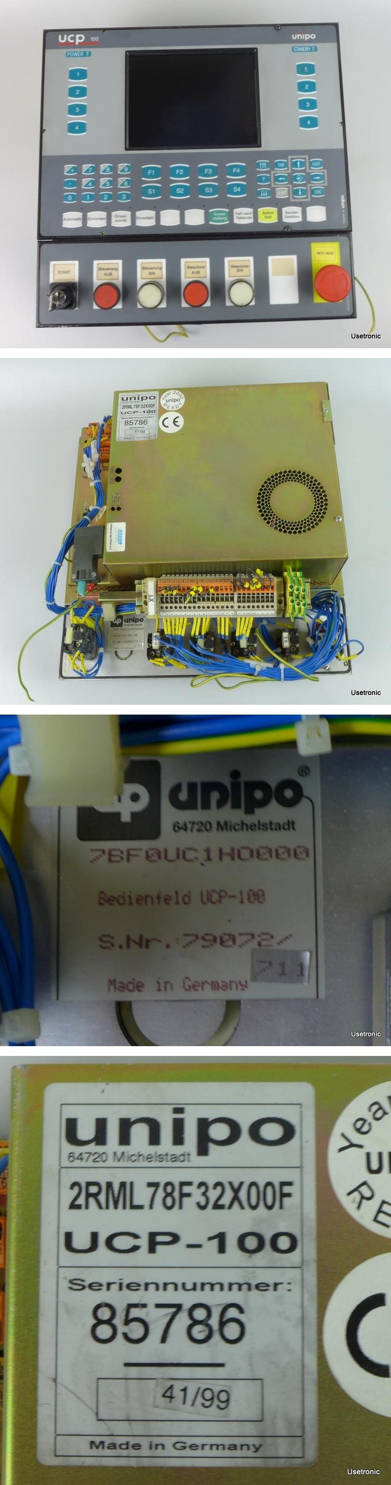 Unipo Panel UCP-100 2RML78F32X00F 7BF0UC1HO000