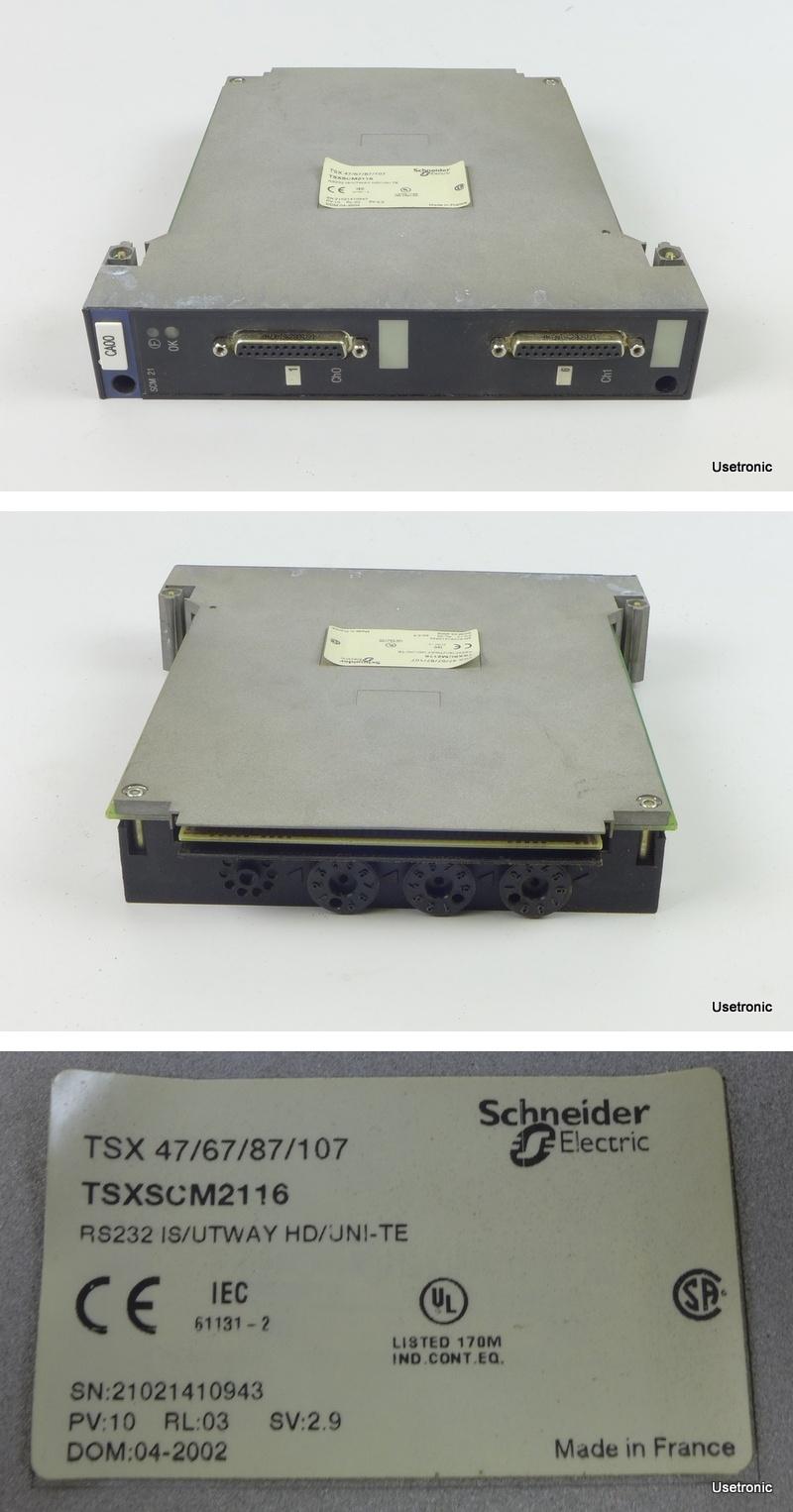 HA278 Telemecanique Schneider Electric TSXSCM2116 TSX SCM 21 16