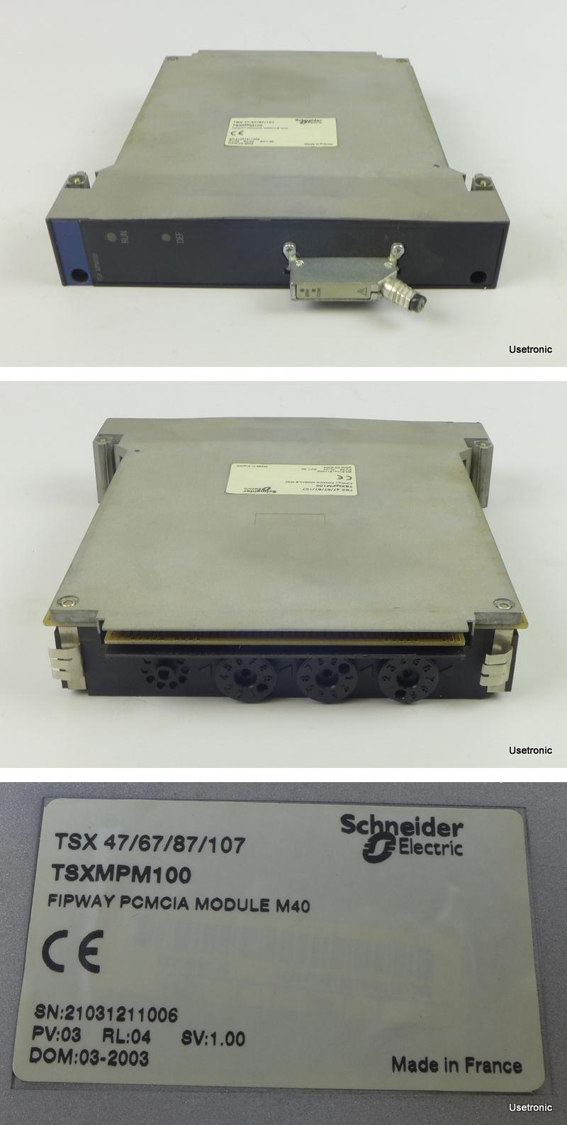 Telemecanique TSXMPM100 TSX MPM 100