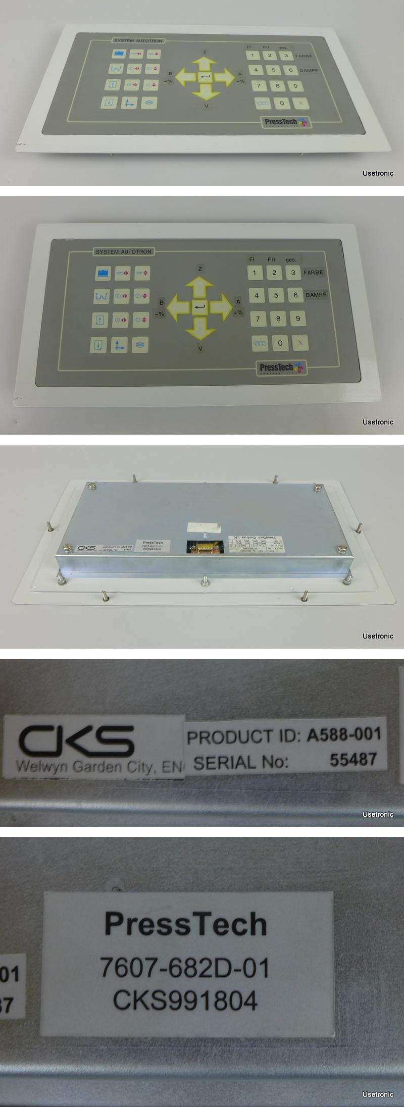 Presstech 7607-682D-01 CKS991804 A588-001