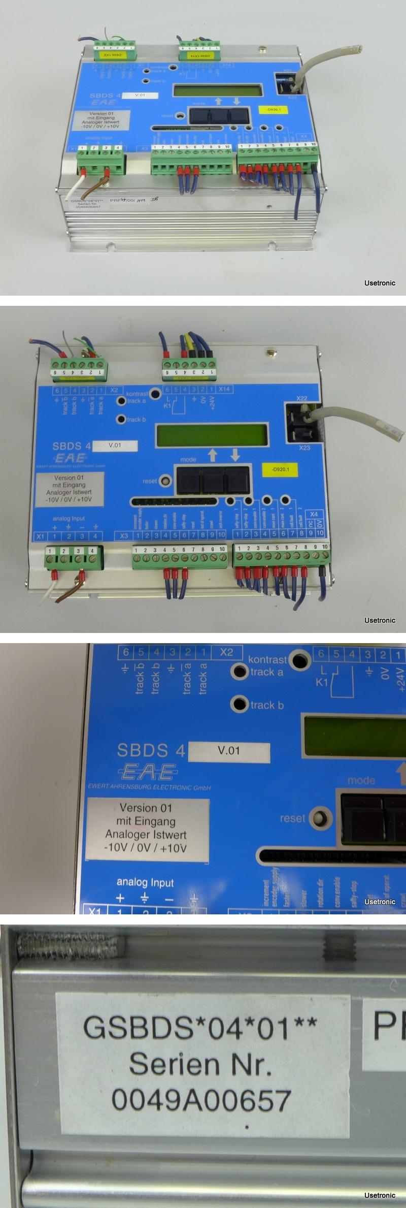 Ewert Ahrensburg Electronic EAE SBDS 4