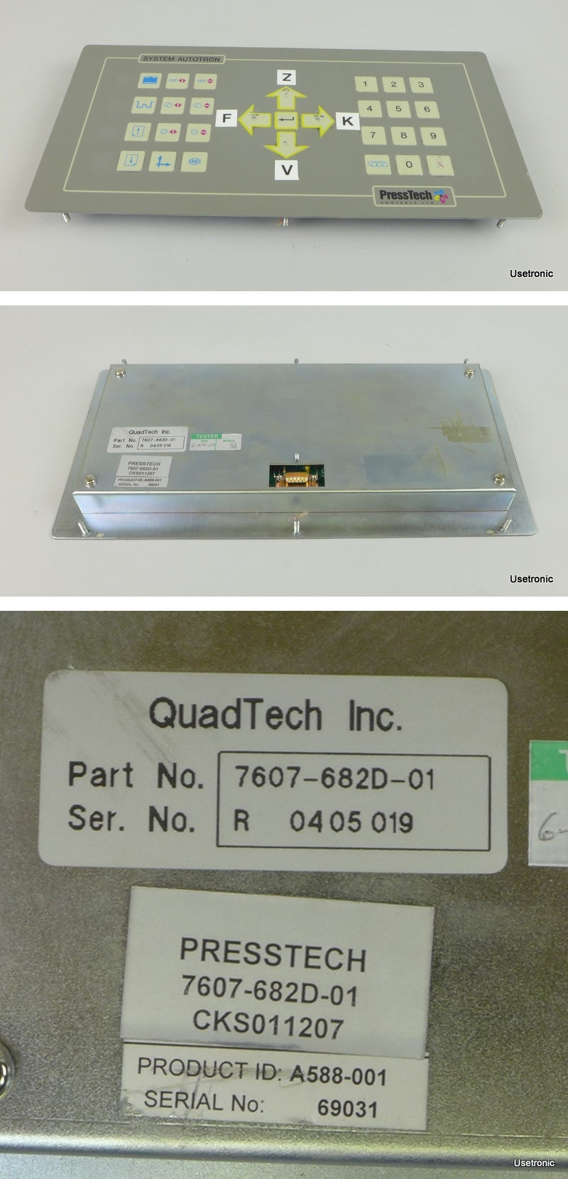 PressTech 7607-682D-01 A588-001
