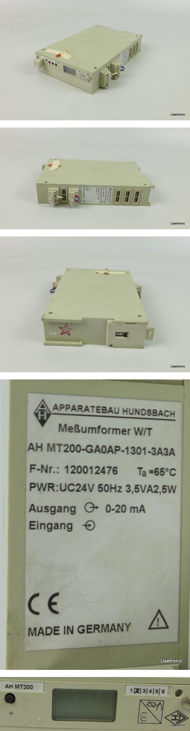 Apparatebau Hundsbach MT200-GA0AP-1301-3A3A