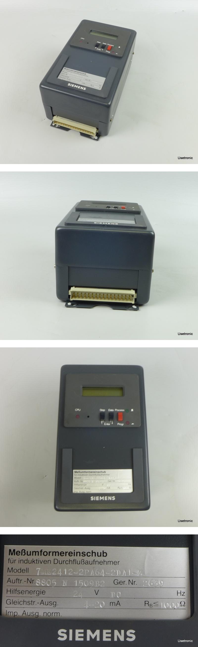 Siemens 7ME2412-2PA64-2DA1-Z