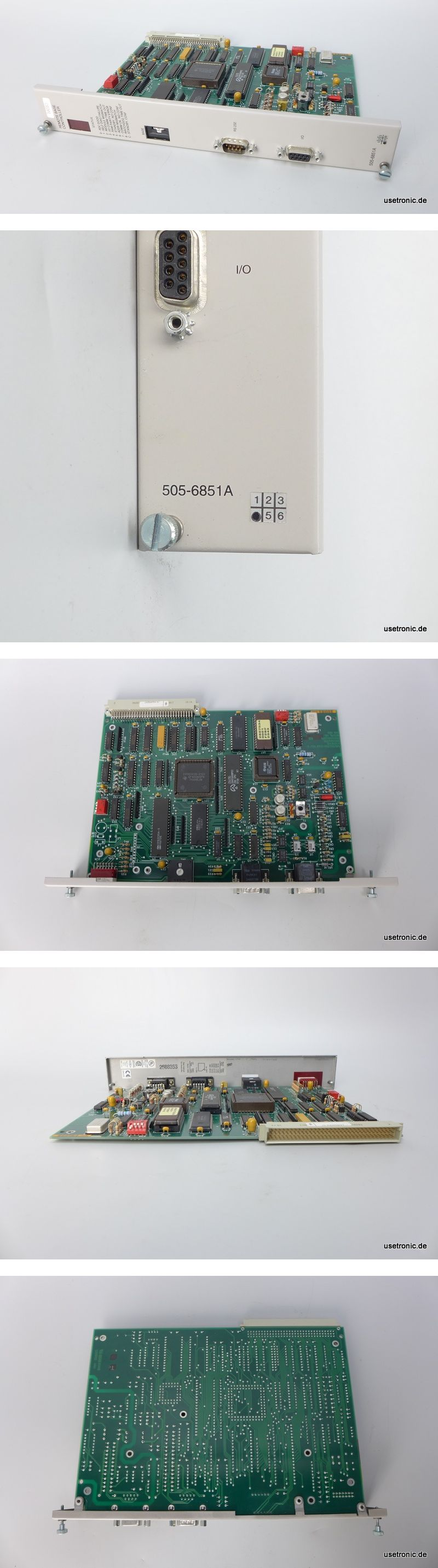 Siemens Texas Instruments Remote Base Controller 505-6851A