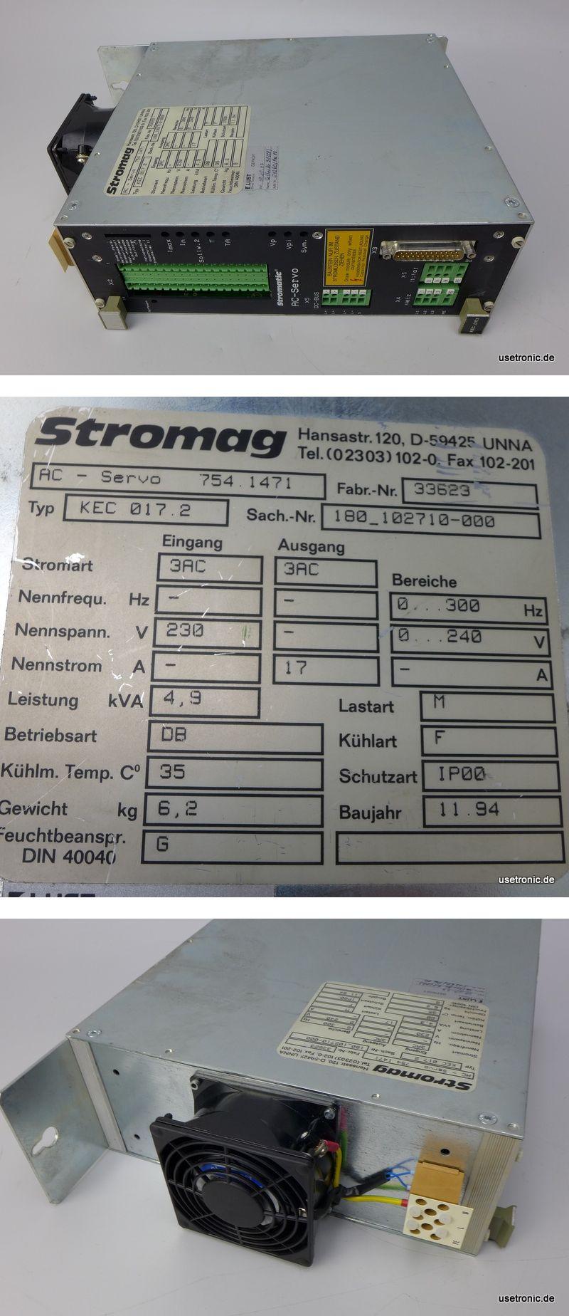 Stromag AC Servo 754.1471 KEC 017.2