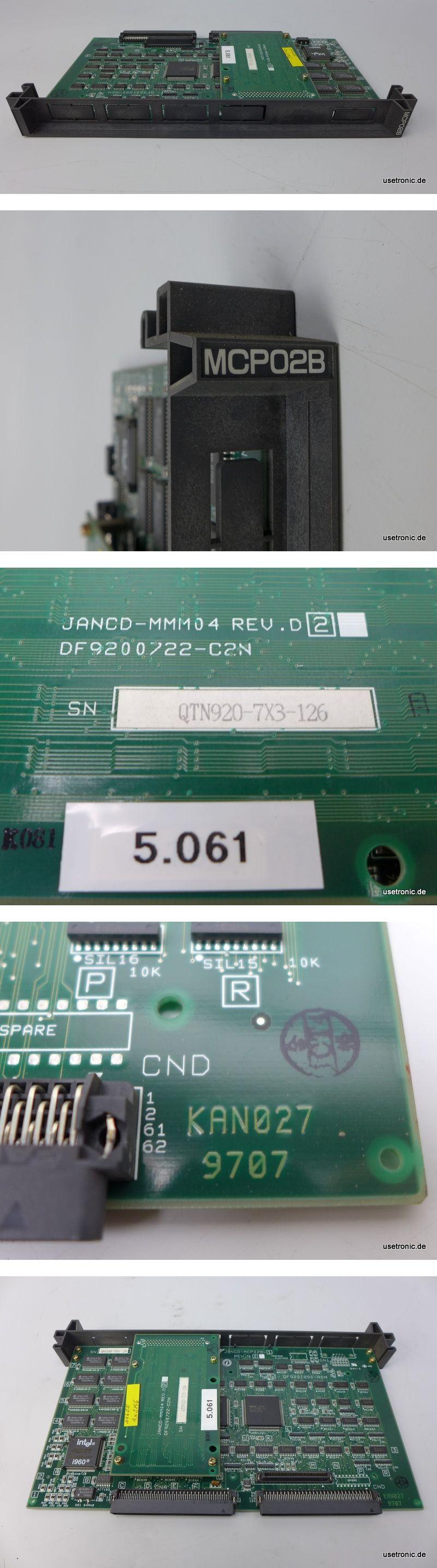 Yaskawa MCP02B JANCD-MMM04 REV.D2 DF9200722-C2N KAN027 9707